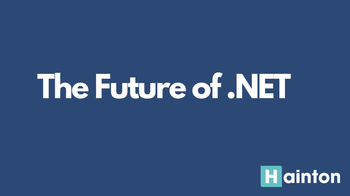 The Future of .NET